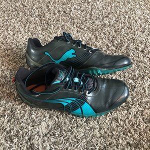 Puma spiked sprint shoes
